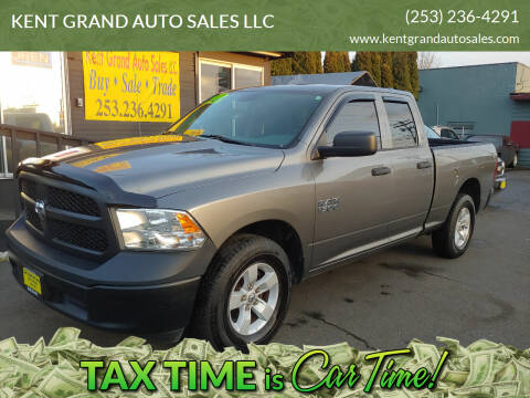 2013 RAM Ram Pickup 1500 for sale at KENT GRAND AUTO SALES LLC in Kent WA