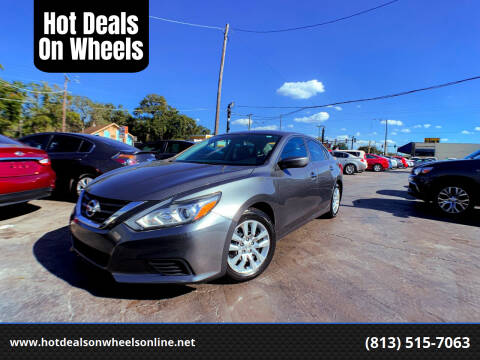 2016 Nissan Altima for sale at Hot Deals On Wheels in Tampa FL