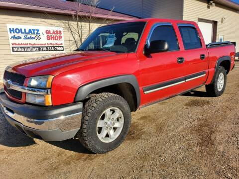 2004 Chevrolet Silverado 1500 for sale at Hollatz Auto Sales in Parkers Prairie MN