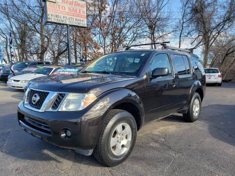 2011 Nissan Pathfinder for sale at Real Deal Auto Sales in Manchester NH
