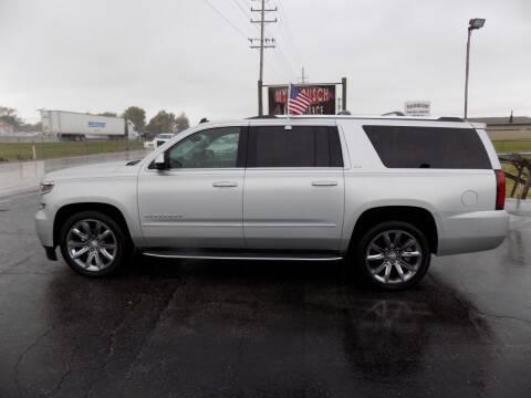 2015 Chevrolet Suburban for sale at MYLENBUSCH AUTO SOURCE in O` Fallon MO