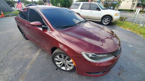 2015 Chrysler 200 for sale at YOUR BEST DRIVE in Oakland Park FL