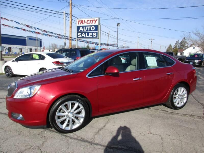 2012 Buick Verano for sale at TRI CITY AUTO SALES LLC in Menasha WI