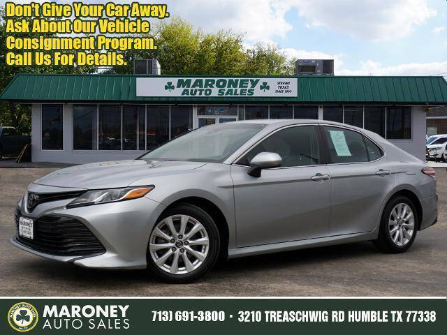 2018 Toyota Camry for sale at Maroney Auto Sales in Humble TX