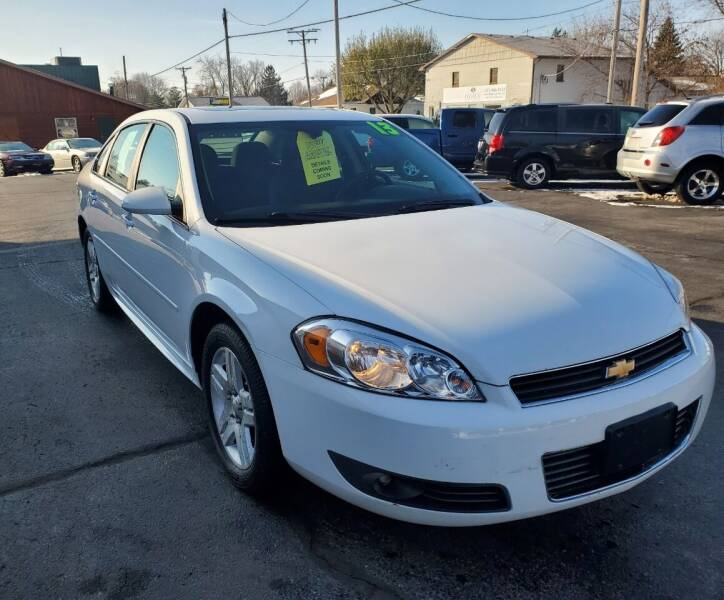 2013 Chevrolet Impala for sale at Haldane Custom in Polo IL
