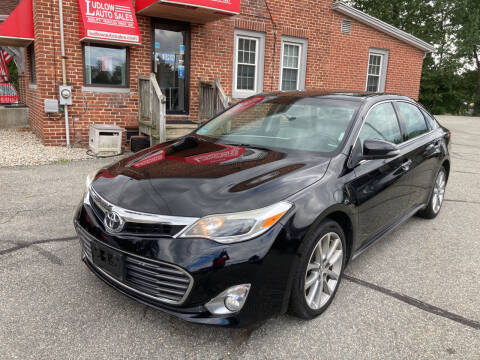 2014 Toyota Avalon for sale at Ludlow Auto Sales in Ludlow MA