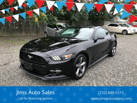2016 Ford Mustang for sale at Jims Auto Sales in Lakehurst NJ