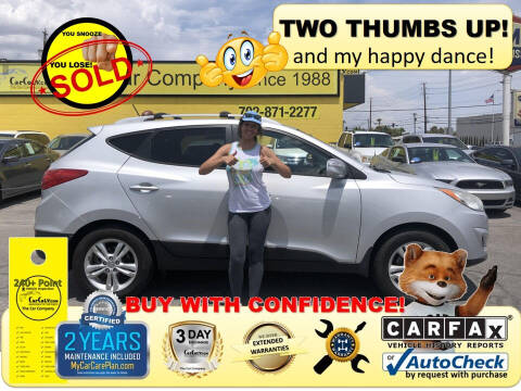 2012 Hyundai Tucson for sale at The Car Company in Las Vegas NV
