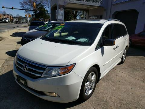 2012 Honda Odyssey for sale at ROBINSON AUTO BROKERS in Dallas NC