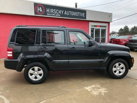 2011 Jeep Liberty for sale at Hirschy Automotive in Fort Wayne IN