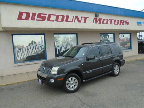 2007 Mercury Mountaineer for sale at Discount Motors in Pueblo CO