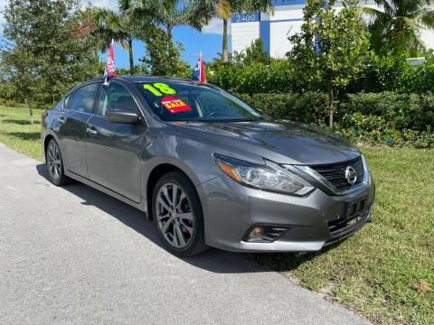 2018 Nissan Altima for sale at D & P OF MIAMI CORP in Miami FL