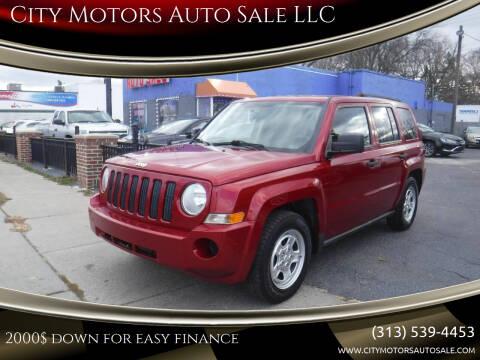 2009 Jeep Patriot for sale at City Motors Auto Sale LLC in Redford MI