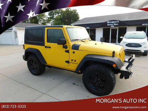 2008 Jeep Wrangler for sale at Morgan's Auto Inc in Paoli IN