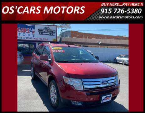 2008 Ford Edge for sale at Os'Cars Motors in El Paso TX