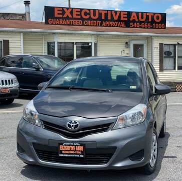 2012 Toyota Yaris for sale at Executive Auto in Winchester VA
