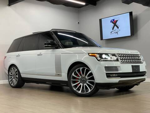 2017 Land Rover Range Rover for sale at TX Auto Group in Houston TX