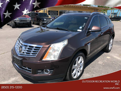 2015 Cadillac SRX for sale at Outdoor Recreation World Inc. in Panama City FL