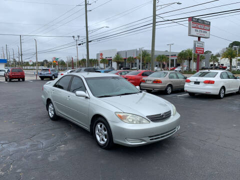 2002 Toyota Camry for sale at Sam's Motor Group in Jacksonville FL