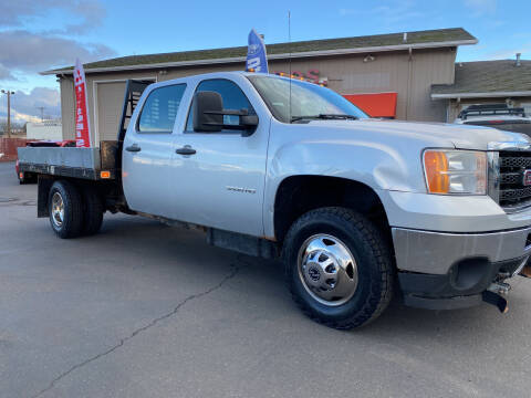 2012 GMC Sierra 3500HD CC for sale at Dorn Brothers Truck and Auto Sales in Salem OR