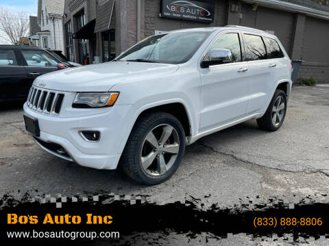 2015 Jeep Grand Cherokee for sale at Bos Auto Inc in Quincy MA