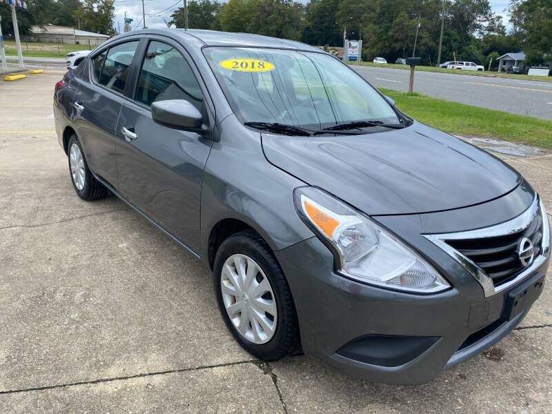 2018 Nissan Versa for sale at A & B Auto Sales of Chipley in Chipley FL