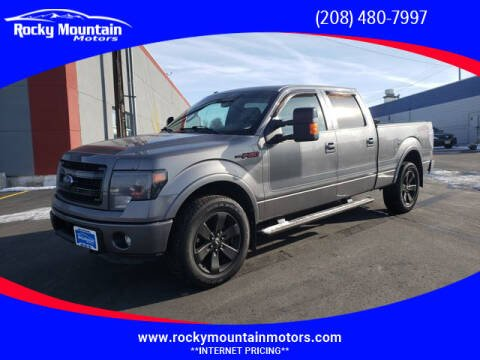 2013 Ford F-150 for sale at Rocky Mountain Motors in Idaho Falls ID