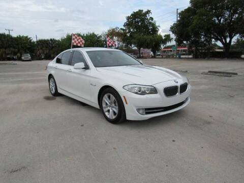 2013 BMW 5 Series for sale at United Auto Center in Davie FL