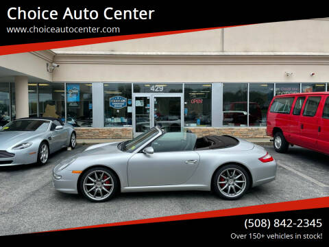 2007 Porsche 911 for sale at Choice Auto Center in Shrewsbury MA