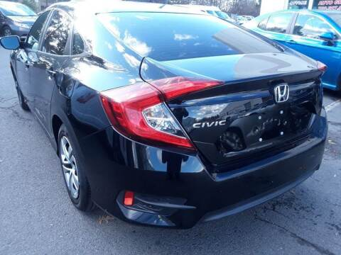 2016 Honda Civic for sale at M & M Auto Brokers in Chantilly VA