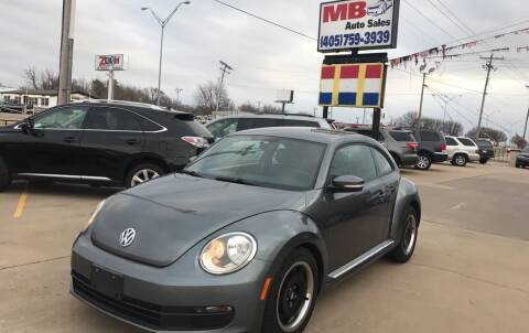 2012 Volkswagen Beetle for sale at MB Auto Sales in Oklahoma City OK