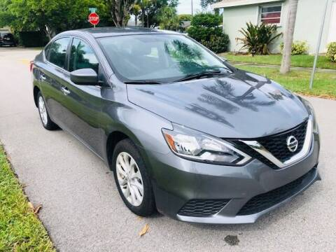 2019 Nissan Sentra for sale at Venmotors LLC in Hollywood FL