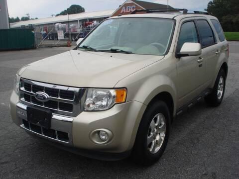 2011 Ford Escape for sale at Uniworld Auto Sales LLC. in Greensboro NC
