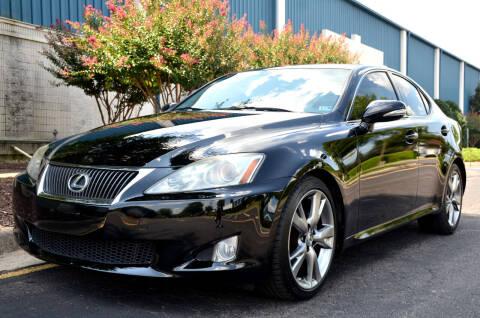 2010 Lexus IS 250 for sale at Wheel Deal Auto Sales LLC in Norfolk VA