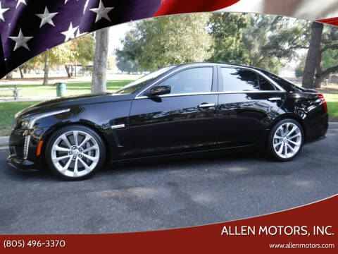 2018 Cadillac CTS-V for sale at Allen Motors, Inc. in Thousand Oaks CA