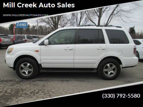 2007 Honda Pilot for sale at Mill Creek Auto Sales in Youngstown OH
