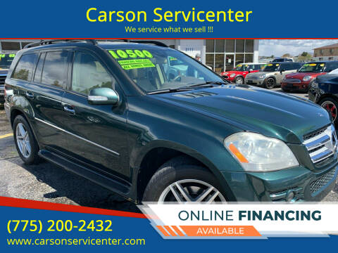 2008 Mercedes-Benz GL-Class for sale at Carson Servicenter in Carson City NV