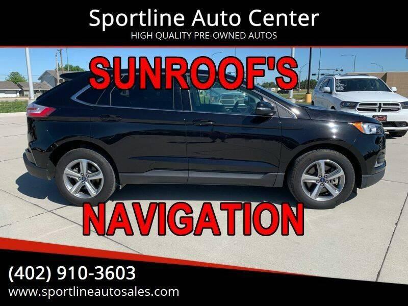 2019 Ford Edge for sale at Sportline Auto Center in Columbus NE