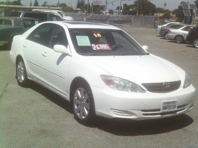 2002 Toyota Camry for sale at Valley Auto Sales & Advanced Equipment in Stockton CA