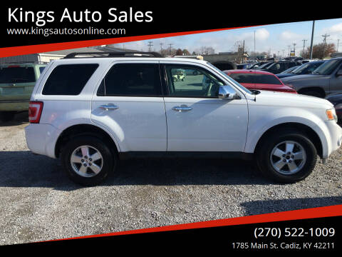 2010 Ford Escape for sale at Kings Auto Sales in Cadiz KY
