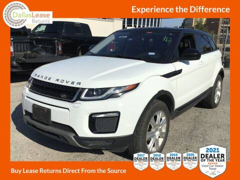 2017 Land Rover Range Rover Evoque for sale at Dallas Auto Finance in Dallas TX