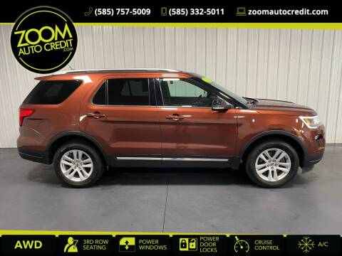 2018 Ford Explorer for sale at ZoomAutoCredit.com in Elba NY