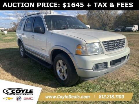 2002 Ford Explorer for sale at COYLE GM - COYLE NISSAN in Clarksville IN