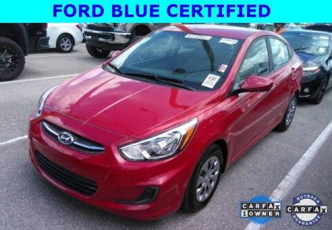 2017 Hyundai Accent for sale at PHIL SMITH AUTOMOTIVE GROUP - Tallahassee Ford Lincoln in Tallahassee FL