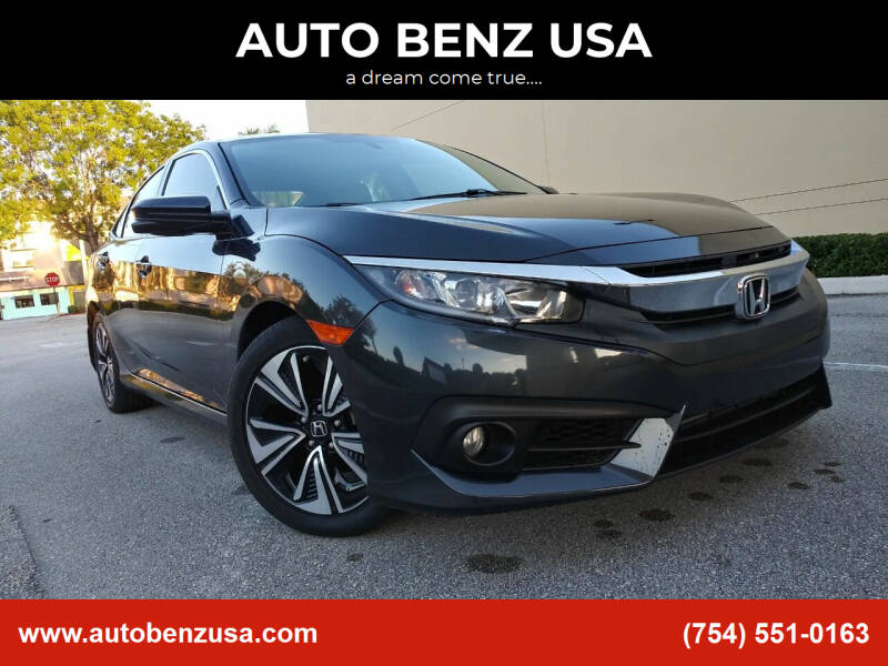 2017 Honda Civic for sale at AUTO BENZ USA in Fort Lauderdale FL
