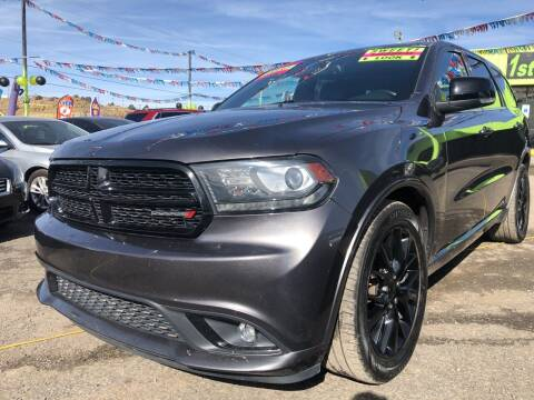 2015 Dodge Durango for sale at 1st Quality Motors LLC in Gallup NM