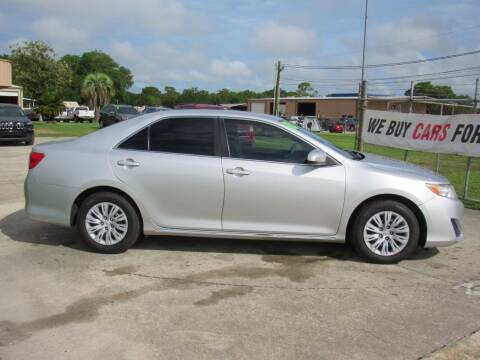 2013 Toyota Camry for sale at Checkered Flag Auto Sales NORTH in Lakeland FL