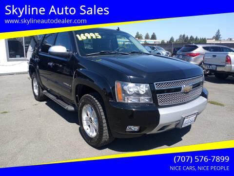 2007 Chevrolet Tahoe for sale at Skyline Auto Sales in Santa Rosa CA