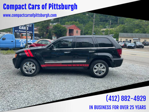 2010 Jeep Grand Cherokee for sale at Compact Cars of Pittsburgh in Pittsburgh PA