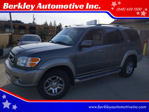2004 Toyota Sequoia for sale at Berkley Automotive Inc. in Berkley MI